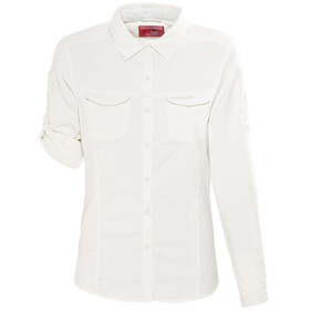 Craghoppers NosiLife Adventure Longsleeve Shirt Women white